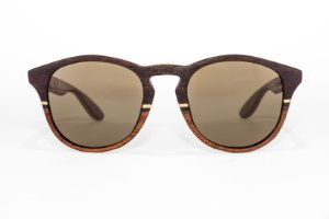 Óculos de madeira masculino jucás - pau ferro