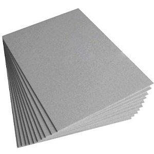 Papel Horlle A4 Cinza H25 2.00mm pct c/ 10 folhas