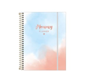 Planner Espiral Mommy 80 Folhas