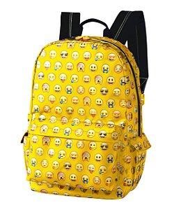 Mochila Foroni Emoji Amarela 42.5740-4
