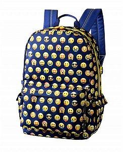 Mochila Foroni Emoji Azul 42.5739-0