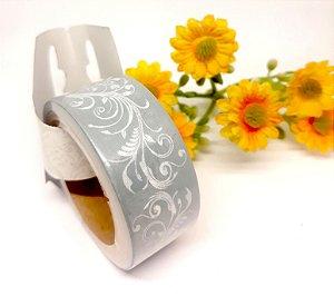 Fita Adesiva Decorativa Toke & Crie 5mx2cm - Arabescos