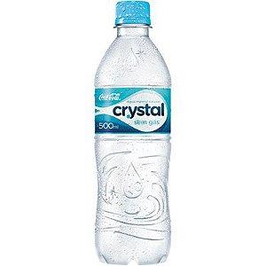 Água Mineral sem gás 500ml Crystal