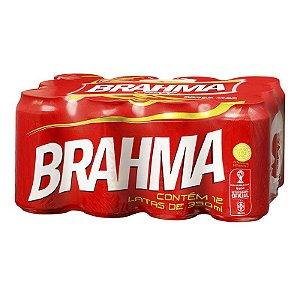 Cerveja Brahma 12x350 (Gelada)