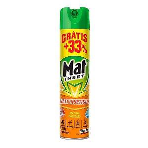 Inseticida Aerossol Mat Inset + 33% Grátis 400ML