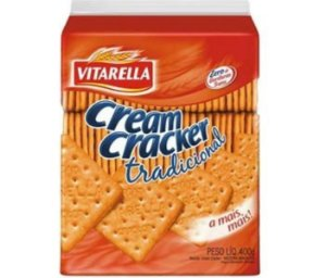 Biscoito Vitarella Cream Cracker 400g