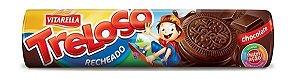 Biscoito Treloso Recheado Chocolate 130g