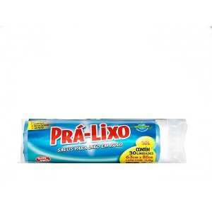 Saco Prá-Lixo Rolo 50L