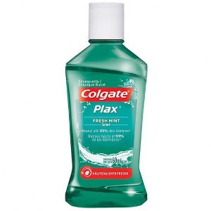 Antisséptico Bucal Colgate Plax Fresh Mint c/ Flúor 60mL