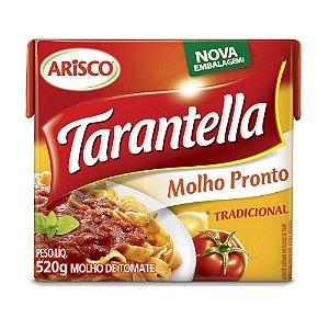 Molho de Tomate Tarantella Tetra Pak 520g
