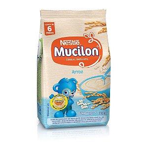 Cereal de Arroz Mucilon Nestlé Sachê 230g