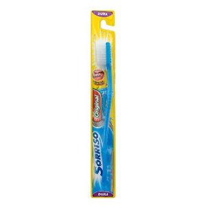 Escova Dental Sorriso Original Dura Cores Sortidas