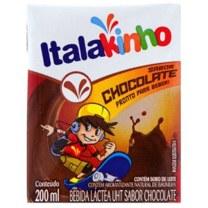 Bebida Láctea Sabor Chocolate Italac 200ml