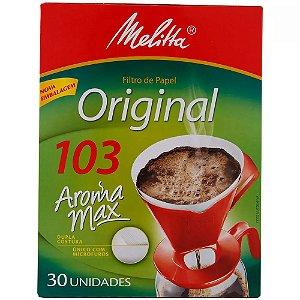 Filtro de Papel 103 Melitta com 30 unidades