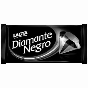 Chocolate Ao Leite Lacta Diamante Negro 150g