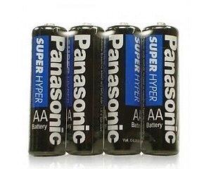 Pilha Panasonic Super Hyper AA4 com 04 und