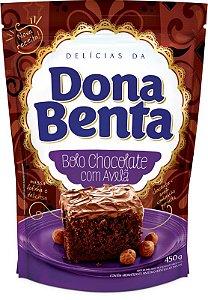 Mistura para Bolo Chocolate com Avelã Dona Benta 450g