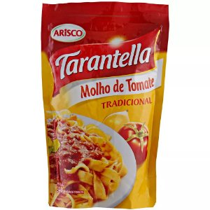 Molho de Tomate Tarantella Tradicional Sachê 340g