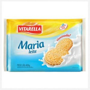 Biscoito Vitarella Maria Leite 400g