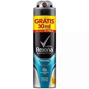 Desodorante Aerossol Xtracool Rexona Men 90g