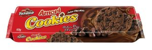 COOKIES AMORI SABOR CHOCOLATE 60G