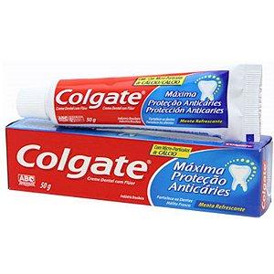 Creme Dental Máxima Proteção Anticáries Colgate 50g