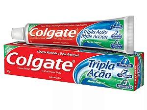 Creme Dental Tripla Ação Menta Original Colgate 90g