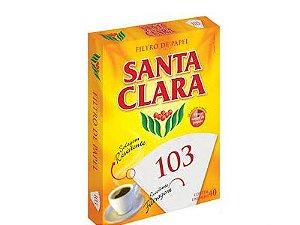 Filtro de papel Santa Clara 103 30und