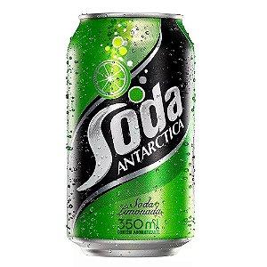 Refrigerante Soda Limonada Antarctica 350ml