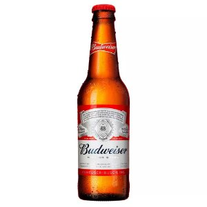 Cerveja Americana Budweiser Long Neck 343ml