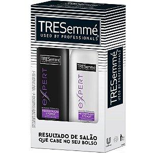Kit Tresemmé Reconstrução e Força Shampoo 400ml Condicionador 200ml