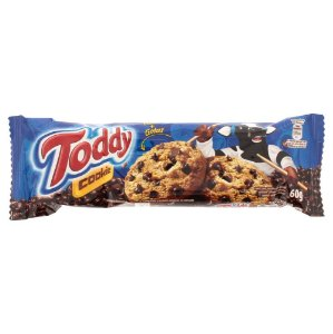 Cookie Toddy Baunilha com Gotas de Chocolate 60g