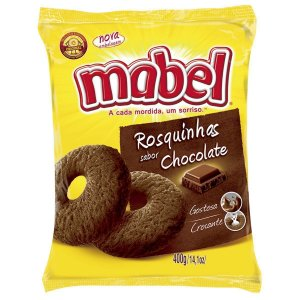 Rosquinha Mabel Chocolate 400g