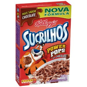 Cereal Matinal Kellogg's Sucrilhos Power Pops Chocolate 240g