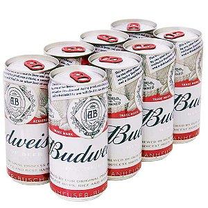 Cerveja Budweiser Lata 269ml com 8 unidades