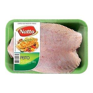 Peito de Frango com Osso Congelado Bandeja Natto 1kg