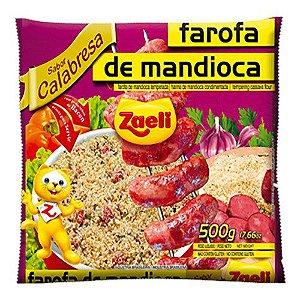 Farofa de Mandioca Calabresa 500g