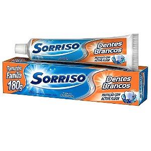 Creme Dental Sorriso Dentes Brancos 180g