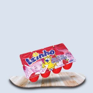 petit suisse Isinho com polpa de morango 360g