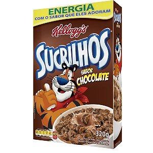 Cereal Matinal Sucrilhos Sabor Chocolate KELLOGG'S Caixa 320g