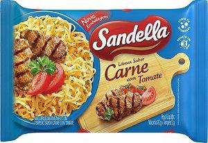 Macarrão Instantâneo Sandella Carne com Tomate 85g