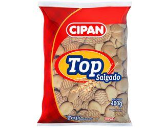 Biscoito Cipan Top Sal 400g