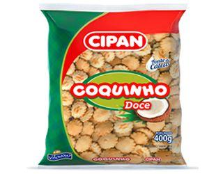 Biscoito Cipan Coquinho Doce 400g
