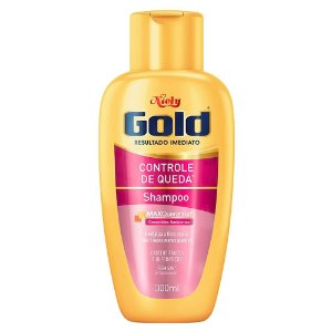 Shampoo Niely Gold Controle de Queda 300g