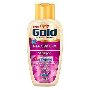 Shampoo Niely Gold Mega Brilho 300g