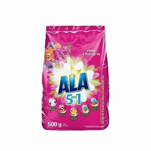 Detergente Pó Ala Flor de Lis Sachê 500 Gr