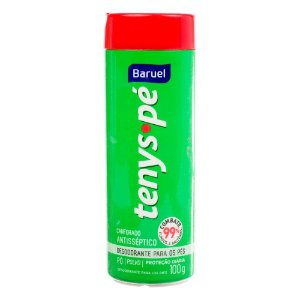 Desodorante para os Pés Tenys Pé Baruel em Pó Canforado 100g