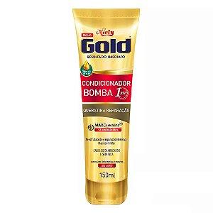 Condicionador Niely Gold Bomba Queratina Reparação 150ml