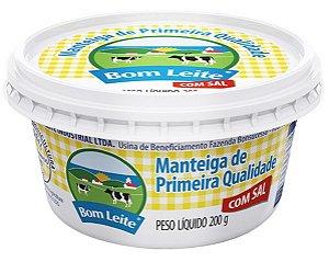 Manteiga Bom Leite de Primeira Qualidade 200g