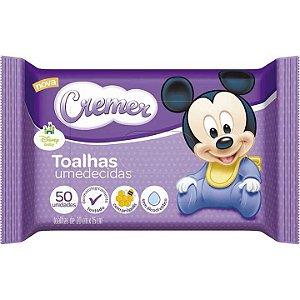 Toalhas Umedecidas Cremer Disney 50 Unidades